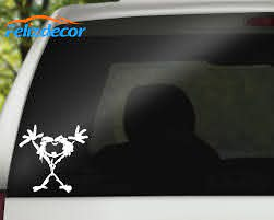 Silhouette Decals Pearl Jam 6 Vinyl Car Truck Decal Sticker White