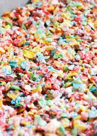 easy fruity pebbles treats 5