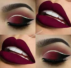 easy valentines day eye makeup step by