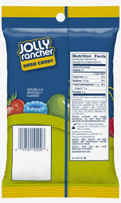 nutritional value for jolly ranchers