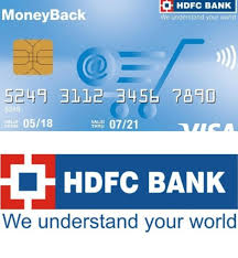 hdfc moneyback card benefits features