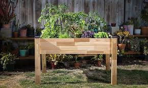 cedarcraft elevated planters