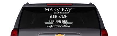 Mary Kay Car Decal White Kakaodesigns Car Mary Kay Mary Kay Car