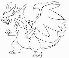 Disegni Da Colorare Pokemon Charizard Mega Evoluto Coloratutto