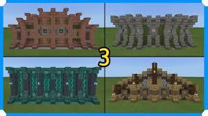 10 Minecraft Wall Designs In 100 Seconds 3 Minecraft Map
