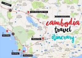 cambodia travel itinerary runway