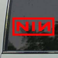 Music Rock Bands Nine Inch Nails Car Truck Decals Stickers Decal Vinyl Truck Car Sticker Moonnepal Com