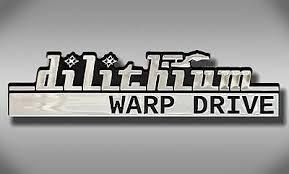 Dilithium Warp Drive Star Trek Car Emblem Chrome Plastic Not A Decal Sticker Ebay
