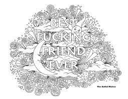 Bff Best Neuken Vriend Ooit Volwassen Kleurplaat Van De Etsy