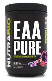 eaa pure 30 servings nutrabio