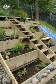 steep slope garden sloped garden