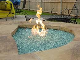 glass fire pit rocks givdo home