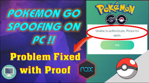 Solution] Unable to Authenticate FIXED🔥|How to Spoof Pokemon GO on PC on  NOX |100% working in 2020 - YouTube