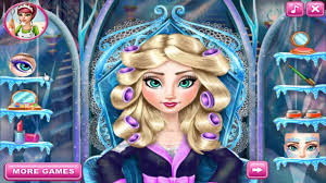 frozen makeup and dress up games free