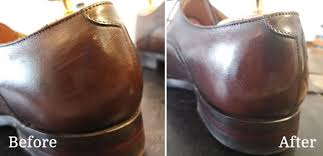 how to repair scratched leather shoes