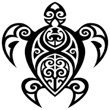 Hawaiian Tribal Turtle Sticker