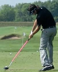 2012-05 : Survey Of Impact Positions Of PGA Tour Players Target Line &  Front View