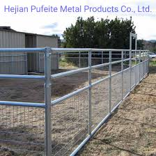 China Welded Wire Livestock Horse Corral Foaling Fence Panel And Gates Panels China Livestock Fence Panels Livestock Fence