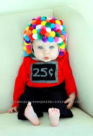 the cutest diy baby gumball machine costume