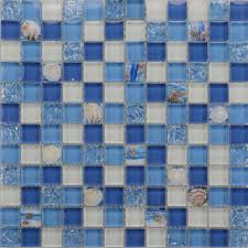kitchen glass shell mosaic tiles