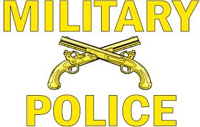 Military Police Window Strip Vinyl Transfer Decal