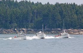 Lobster boat races rock Stonington Harbor   Island Ad-Vantages   Penobscot  Bay Press