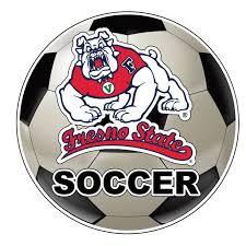 Fresno State Bulldogs 4 Inch Round Soccer Ball Vinyl Decal Sticker Walmart Com Walmart Com