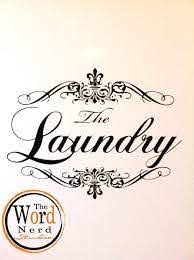 Appliance Vinyl Decal French Laundry Decal Washing Machine Etsy