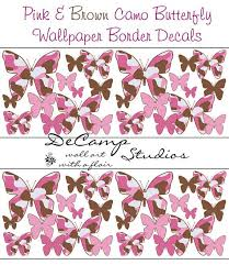 Free Download Pink And Brown Camo Butterfly Wallpaper Border Wall Art Decals For 570x659 For Your Desktop Mobile Tablet Explore 40 Pink Camo Wallpaper Border Pink Mossy Oak Wallpaper