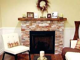 reface fireplace refacing cost brick