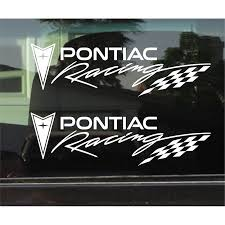 2pcs Pontiac Racing Vinyl Decal Sticker Car Window Stickers 25cm Stickers Aliexpress
