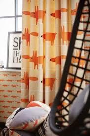 Scion Mr Fox Curtains Fox Bedroom Boys Army Room Kids Bedroom