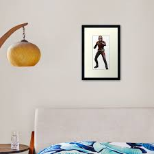 Ant Man Framed Art Print By Lucyymaguire Redbubble