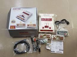 Máy chơi Game NES 4 nút HDMI tay cầm Bluetooth 600 trò chỉ 370k - 370.000đ