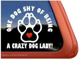 Paw Print Dog Window Decal Nickerstickers