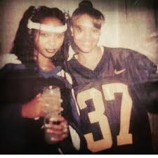 Natina Reed and Left Eye, 1997. | Old school music, Hip hop music ...