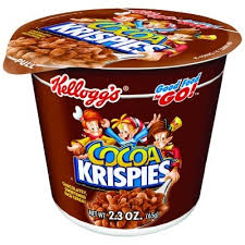 kellogg s cereal cocoa krispies cup