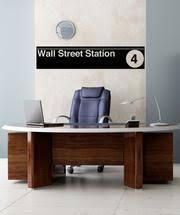 Vinyl Wall Decal Sticker Wall Street Subway Sign 1285 Stickerbrand