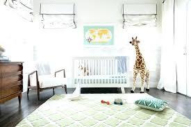 black and white nursery rug boy