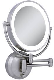 lighted makeup mirror wall mounted