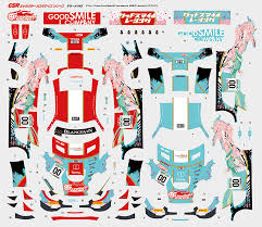 Good Smile Hatsune Miku Amg 2017 Spa24h Ver 1 24th Scale Decals