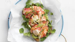 Lobster Salad with Greens and Citrus ...