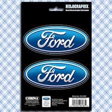Ford Oval Logo Car Truck Window Decals Stickers