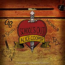 Alice Cooper School S Out Album Sticker Orignal Artwork Vinyl Decal Sticker 4 X 4 Walmart Com Walmart Com