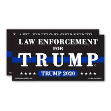 Trump Bumper Sticker Law Enforcement For Trump Trumpstoreamerica