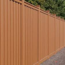 8 Ft Tall Trex Fencing In Saddle Color Trex Fencing Project Spotlight Trex