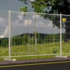 Construction Site Fence Cornice Ferro Bulloni For Roads Wire Mesh Galvanized Steel