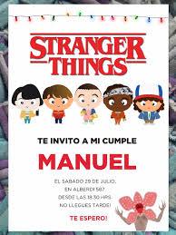 20 Invitaciones Cumpleanos Quince Stranger Things 480 00 En