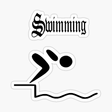 Usa Swimming Stickers Redbubble