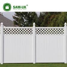 China 6 X 8 Vinyl Pvc Privacy Fence Double Gate On A Hill China Tongue And Groove Vinyl Private Fence White Vinyl Privacy Fence